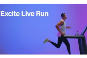 technogym excite live run