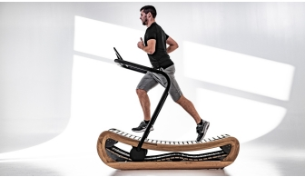 NOHrD Sprintbok Wooden Curved Treadmill