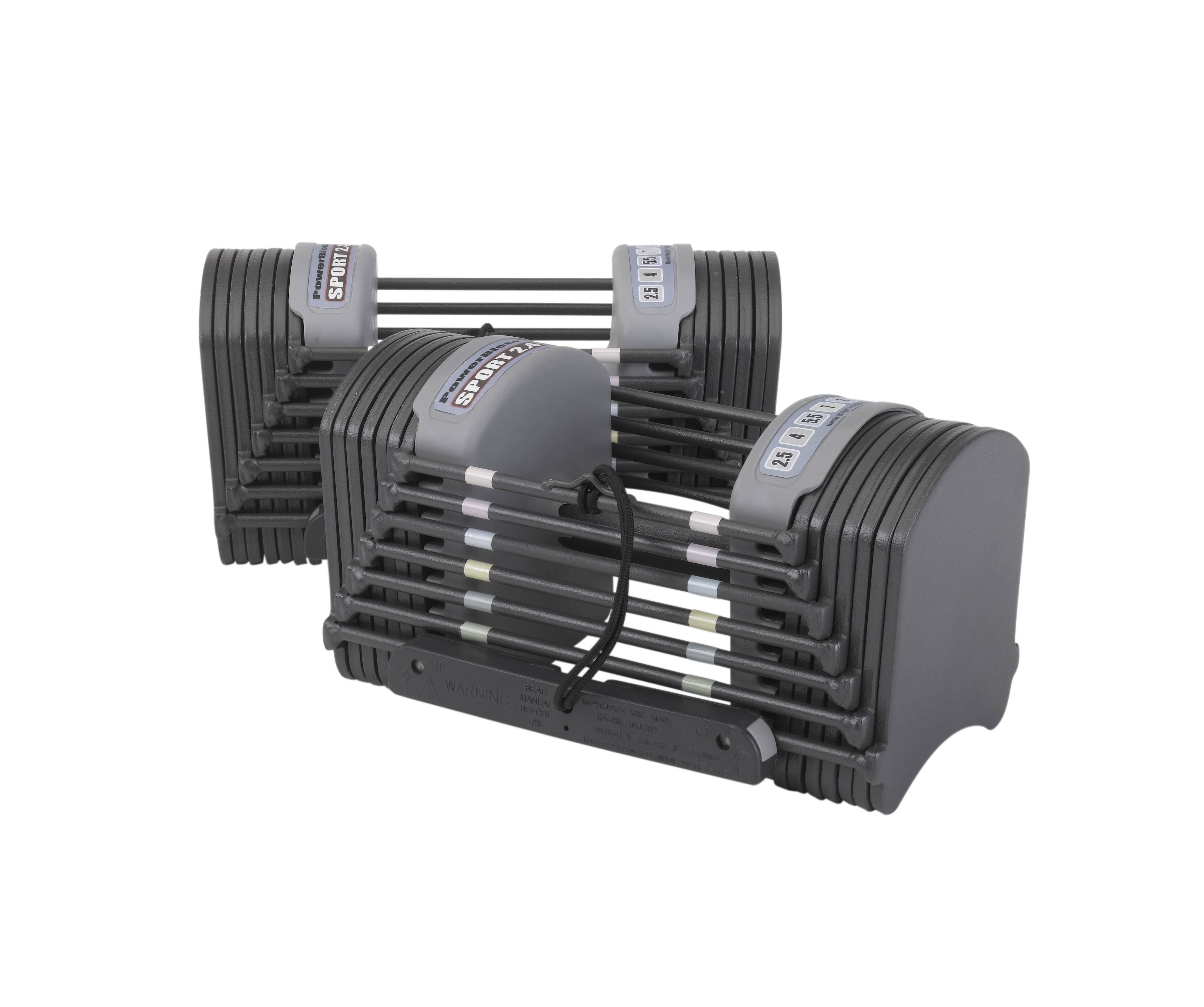 PowerBlock Sport 2.4 Dumbbells (1.5kg - 11kg pair)