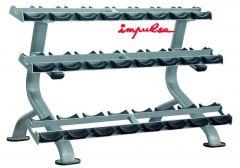 Impulse IT 3 Tier Dumbbell Rack (12 Pair)