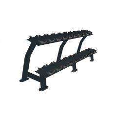primal strength horizontal rack 10 dumbbell pairs