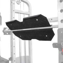 leg press attachment for monster rack