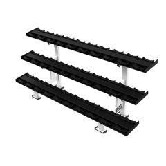 Hammer strength three tier dumbbell rack