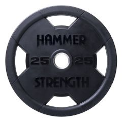 hammer strength round rubber olympic discs