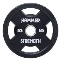 Hammer Strength Urethane Olympic plates RNDX - 10kg (Single Disc)