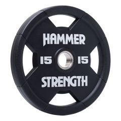 Hammer Strength Urethane Olympic plates RNDX - 15kg (Single Disc)