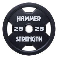 Hammer Strength Urethane Olympic plates RNDX - 25kg (Single Disc)