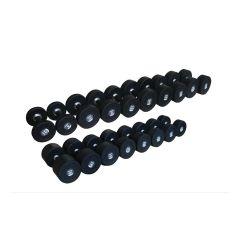 stealth commercial premium rubber dumbbell sets