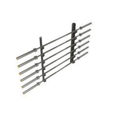 Horizontal Wall Gun Rack (6 Bars)