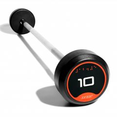 Rubber Barbells with Straight Bars (Individual)