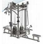 Impulse IT 4 Stack Multi-Station Gym