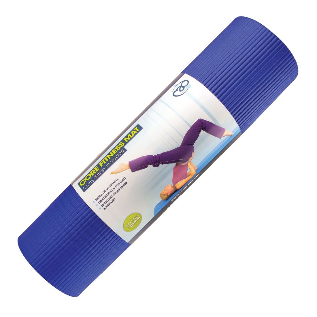 Core Fitness Mat 10mm In Blue