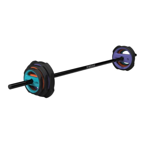 jordan ignite urethane pump x studio barbell set