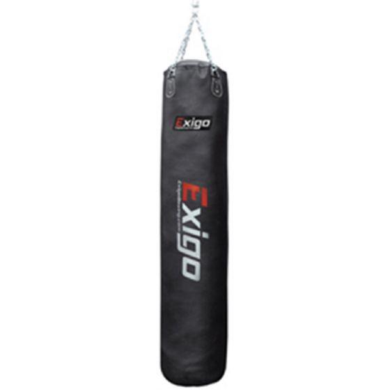 Exigo 6ft Leather Straight Punch Bag (40kg)