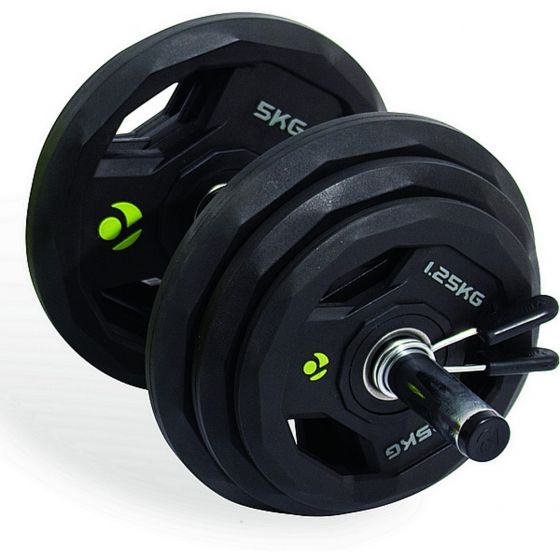 35kg Adjustable PU Dumbbell Set