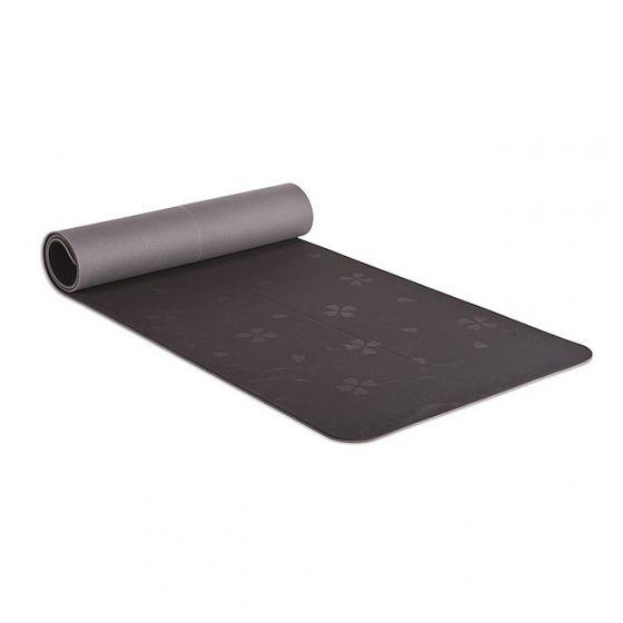 BodyZen Eco Yoga/Pilates Mat (Black/Grey)