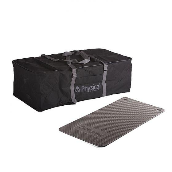 25 Supasoft Exercise Mats & Carry Bag (Blue)