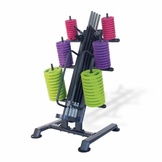 12 x studio pump sets with rack