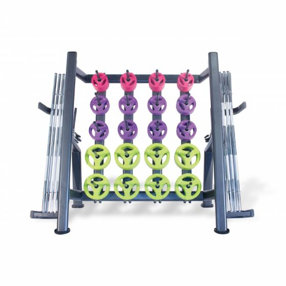 30 x chrome bar pump sets and rack
