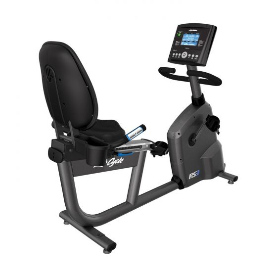 RS3 LifeCycle Recumbent Bike Go Console