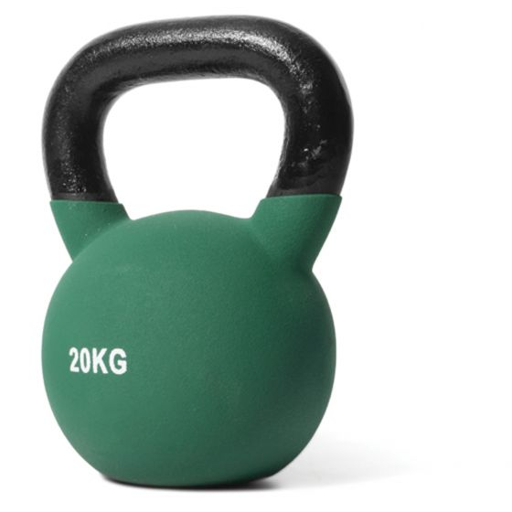 Coloured Neoprene Kettlebell Set (1 x 20kg, 1 x 24kg, 1 x 28kg)