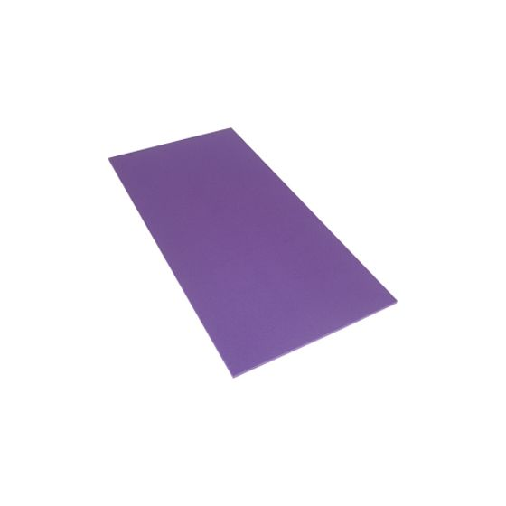budget exercise mat - purple