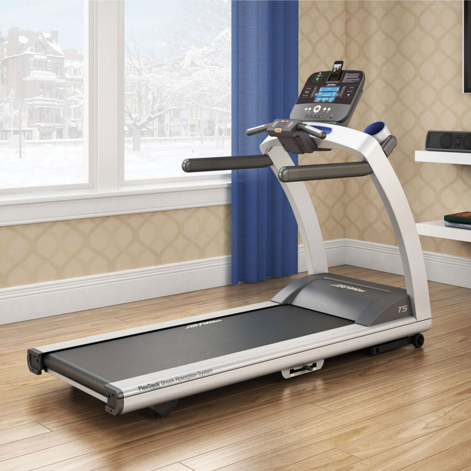 Life Fitness Treadmill Deck Replacement: Life Fitness T5 Treadmill With Track Connect Console (was