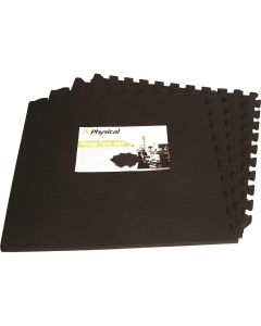 Foam Flooring Pack - 4 x Tiles (61cm x 61cm) & Edges