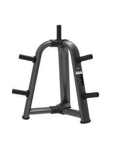 commercial disc rack and bumper plate tree