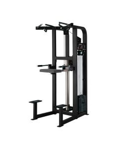 hammer strength select full assisted dip and chin up machine