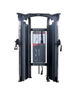 commercial functional trainer dual adjustable pulley