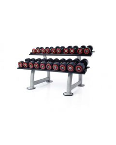 escape urethane dumbbell sets and rack