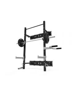 exigo wall mounted folding rack