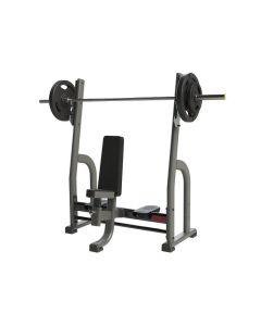 olympic shoulder press bench exigo