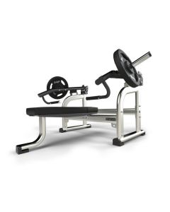exigo iso lateral flat bench chest press