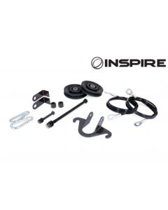Inspire Fitness Leg Extension Cable Kit (Connects SCS Bench to FT2)