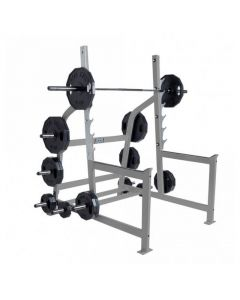 hammer strength commercial olympic squat rack