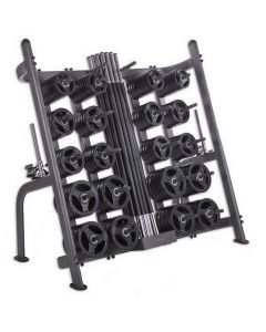 30 x Studio PU Pump Sets & Rack (Carbon Bar / Black Discs)