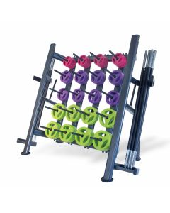 30 studio pump sets with rack black bars