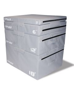 Soft Plyo Boxes (3, 6, 12, 18 Inch)