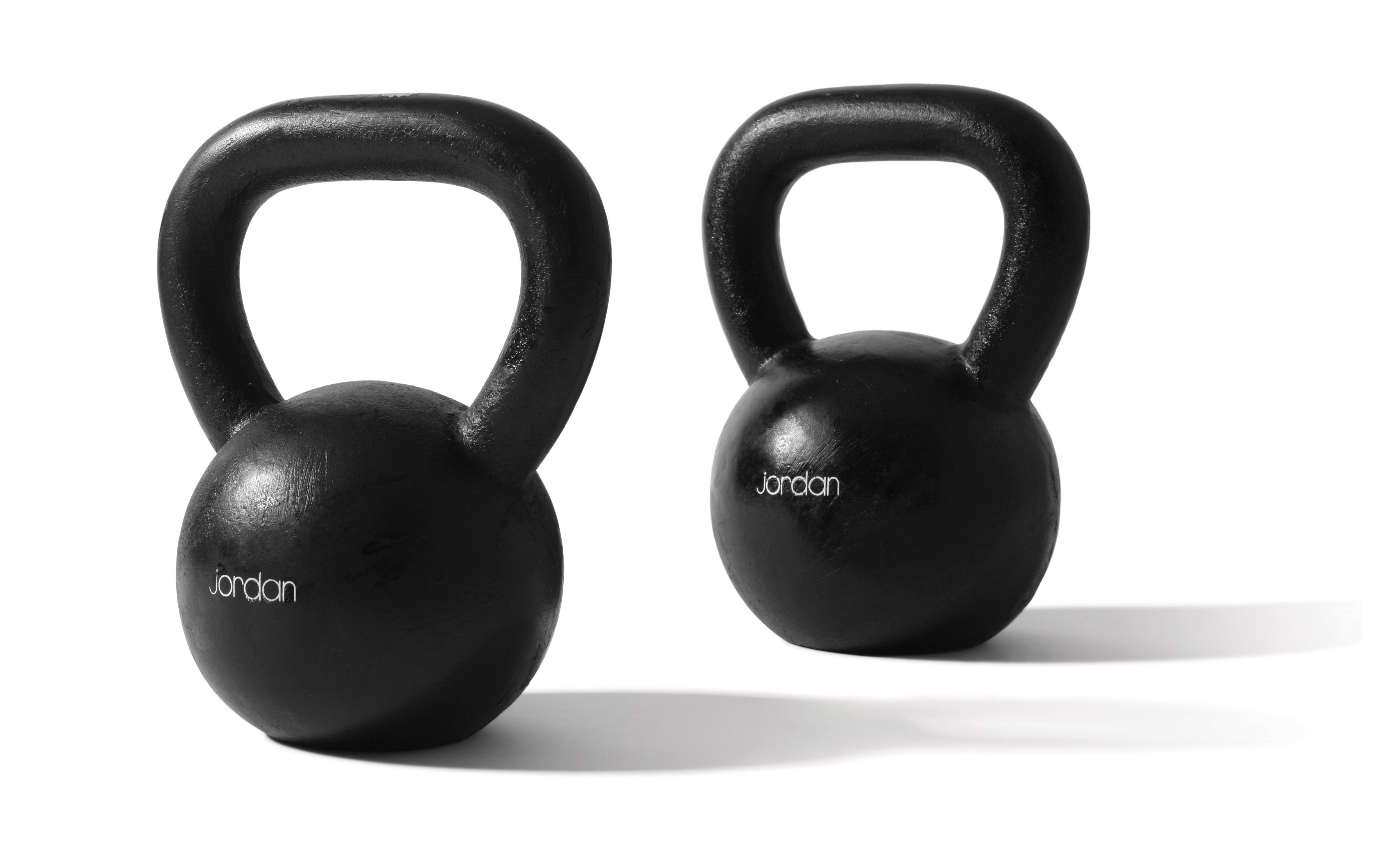 Cast Iron Kettlebell Womens Beginner Set (1 x 4kg, 1 x 8kg, 1 x 12kg)