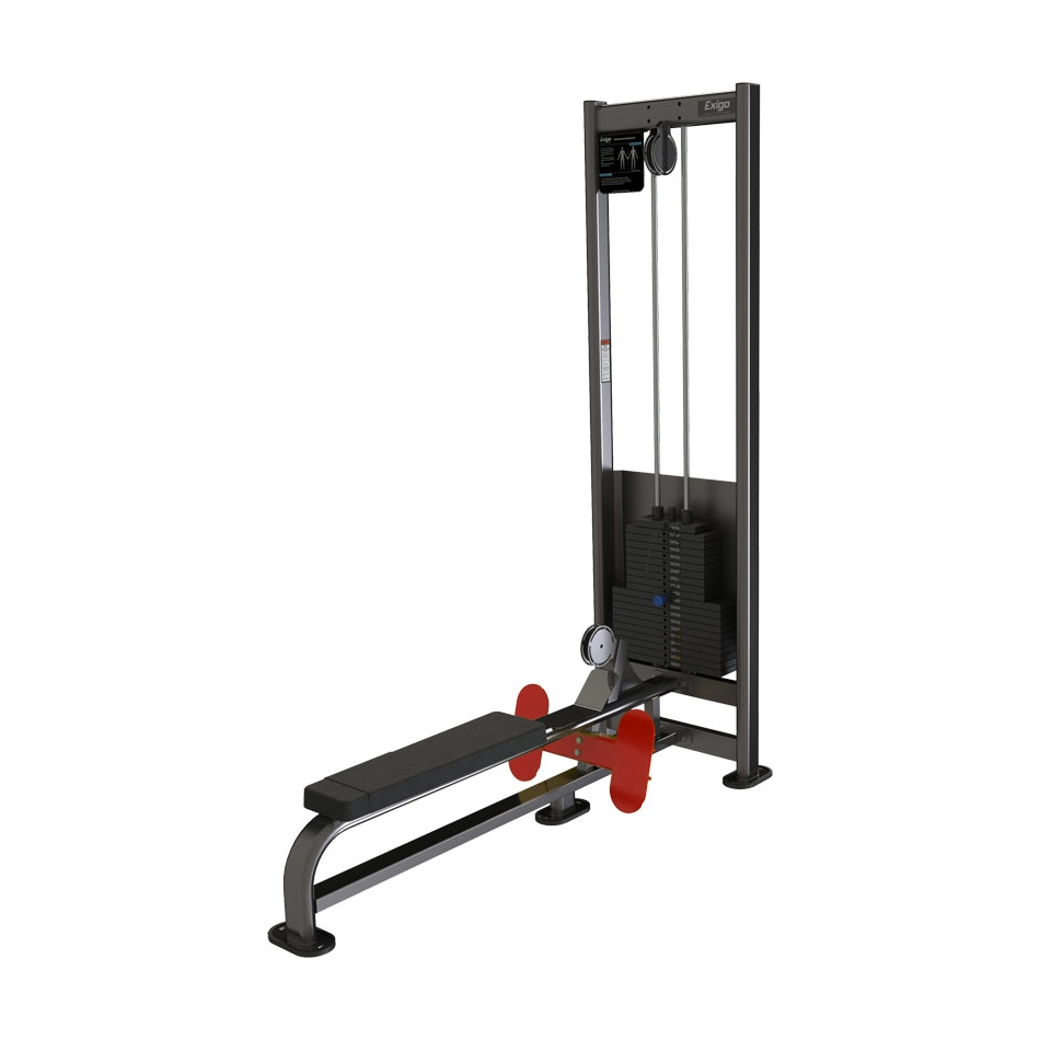 Exigo Lateral Low Row - 125kg Weight Stack