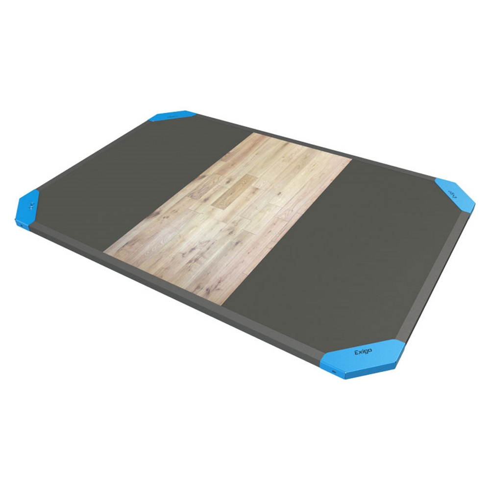 Olympic Lifting Platforms (Oak Centre / Rubber)