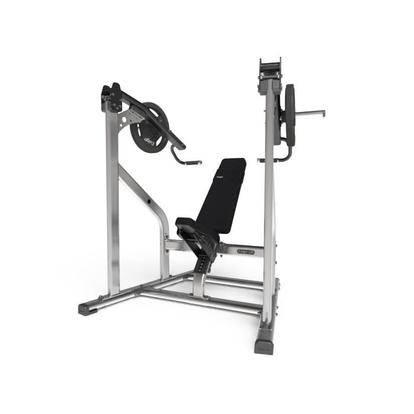 Exigo ISO Lateral Front Pivot Shoulder Press