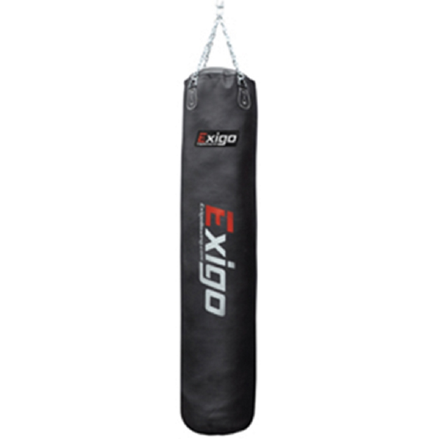 Exigo 6ft Leather Straight Punch Bag (40kg)