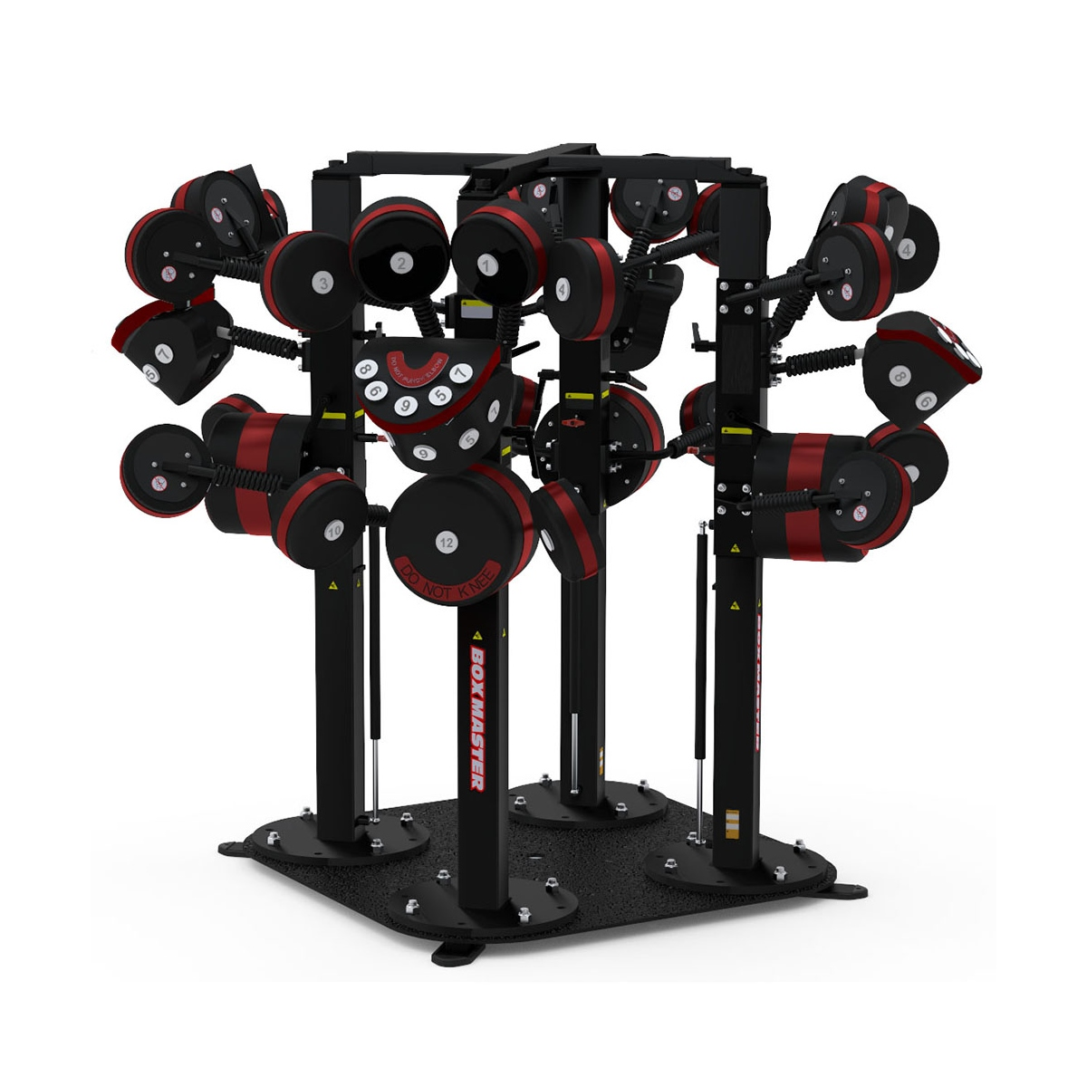 BoxMaster® Quad Boxing Trainer
