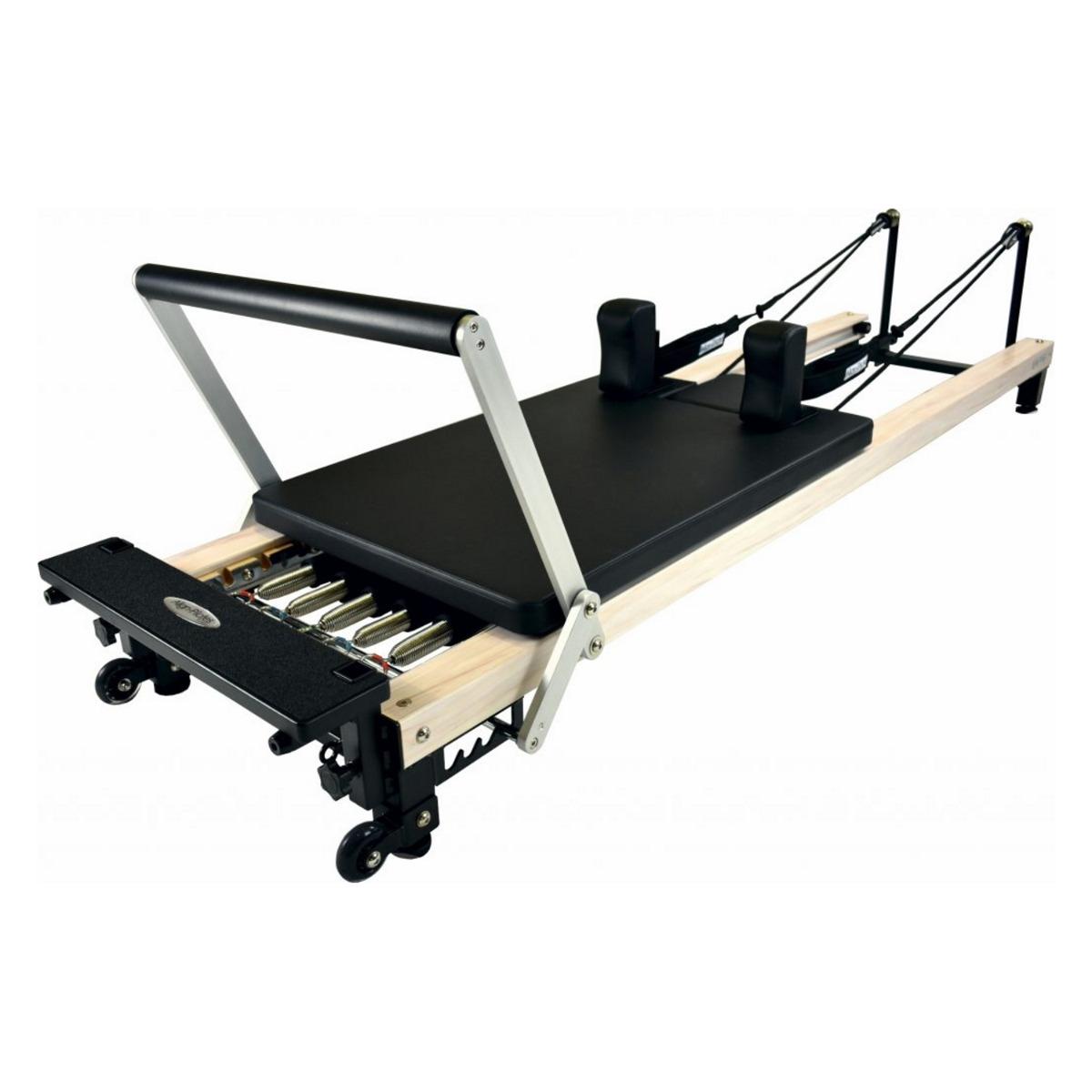 Align-Pilates C2-Pro Reformer Wood Effect