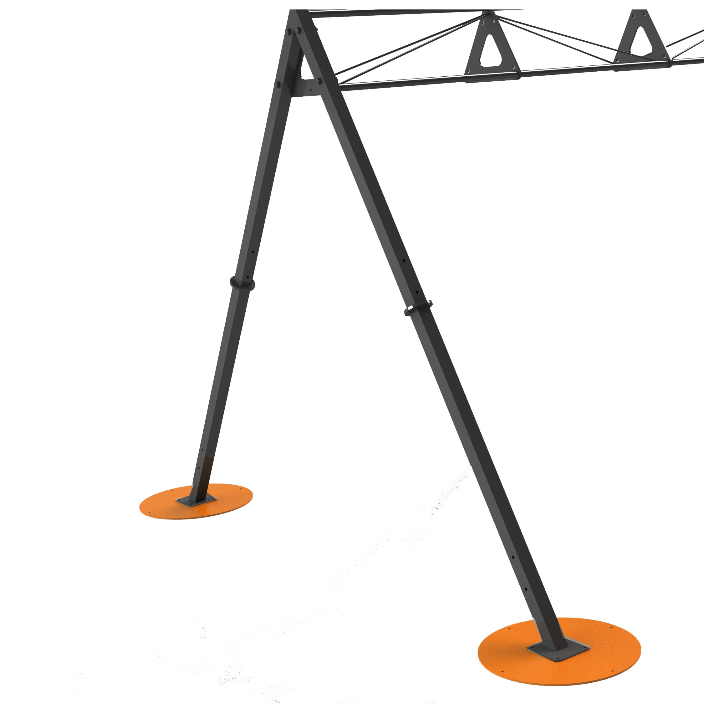 Stability Plate for A-Frame