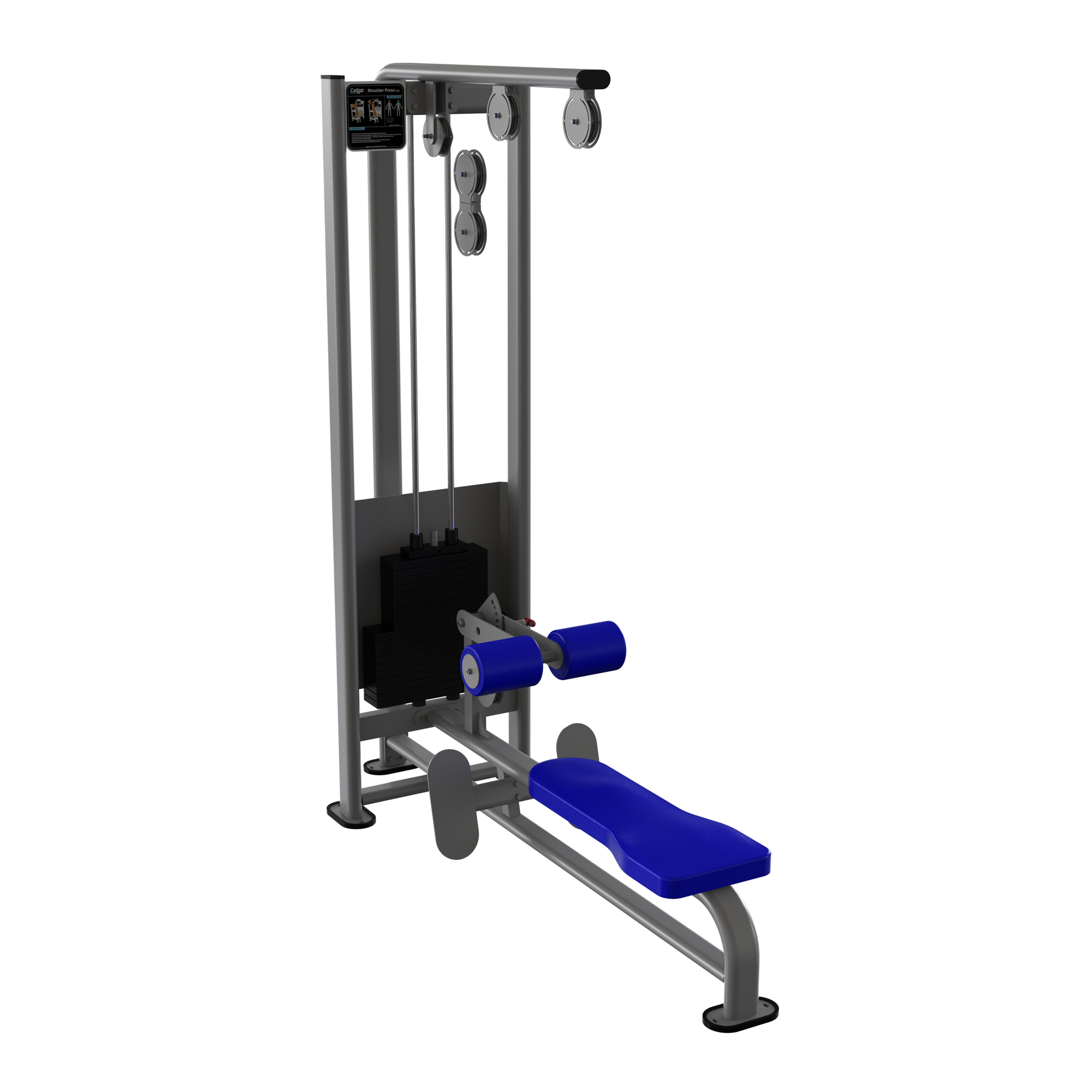 Exigo Lat Pulldown Low Row Combination