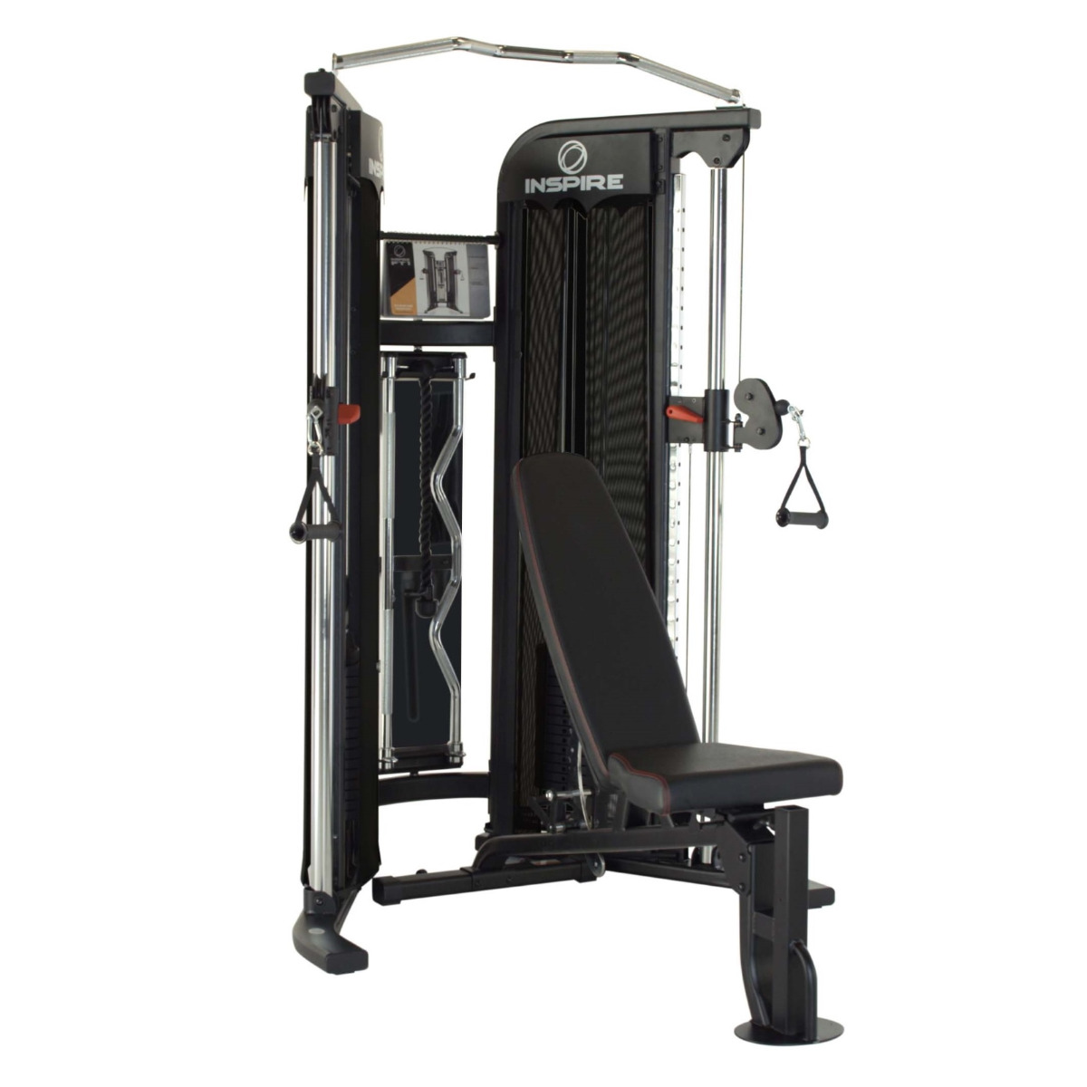 Inspire FT1 Functional Trainer Package (Incl Bench & Add-on Weight Kit)